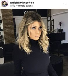 18 medium length angled bob hairstyles hairstyles 2020 new hairstyles and hair colors blonde balayage lob hair wedding hairstyles one of your most imp Balayage Lob, Bronde Lob, Balayage Long Bob, Balayage Hair 2018, Wavy Angled Bob, Angled Bobs, Wavy Bobs, Long Angled Hair, Long Inverted Bob