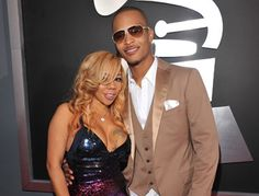 """T.I. and his wife, Tameka """"Tiny"""" Cottle"""