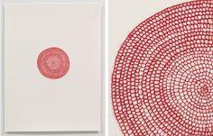 Emily Barletta - Untitled (big circle)