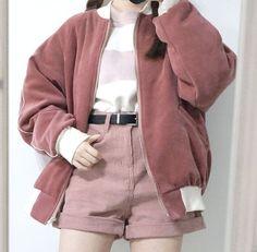 Dusty pink  Kstyle @jacintachiang