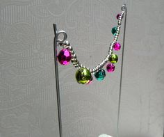 Accessoires de fée jardin colorés guirlande par TheLittleHedgerow