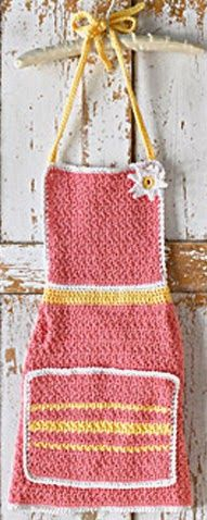 20 FREE Crochet Patterns For Your Kitchen ✿⊱╮Teresa Restegui http://www.pinterest.com/teretegui/✿⊱╮