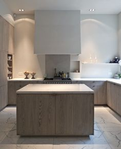 limed+oak+kitchen+cabinets+-+minimalist+limed+oak+kitchen+cabinets+by+AIDArchitecten+via+atticmag