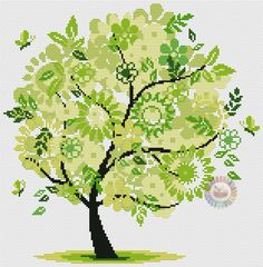 весеннее дерево 5