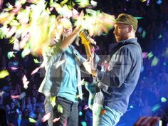 there go the confetti cannons!
