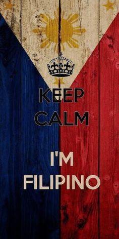 'Keep Calm I'm Filipino' w/ National Philippines Flag - Plywood Wood Print Poster Wall Art Filipino Memes, Filipino Art, Filipino Culture, Filipino Tattoos, Filipino Tribal, Filipino Food, Filipino Funny, Images Wallpaper, Iphone Wallpaper