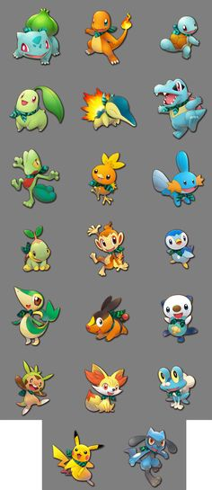 Pokemon Mystery Dungeon Pikachu Sprites | Car Interior Design