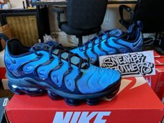 huge selection of 874a9 f296d ... Nike Air Vapormax Plus Obsidian Blue Photo VM Max Tuned 924453-401  Hyper Flyknit  img https ...