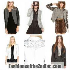 Blazer Fashion Zodiac Style Www.Fashionsofthezodiac.com