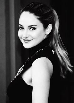 """Shailene Woodley (born: November 15, 1991, San Bernardino County, California, CA) is an American actress. Her first major role was in the ABC Family series The Secret Life of the American Teenager. She appeared in the movies """"The Descendants"""" 2011), """"The Spectacular Now"""" (2013), """"Divergent"""" (2014) and """"The Fault In Our Stars"""" (2014). Shailene Woodley, The Spectacular Now, Divergent 2014, Divergent Series, Intelligent Women, Secret Life, Celebs, Celebrities, Woman Crush"""
