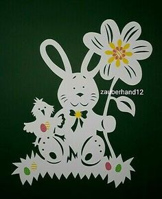 Paper Cutting Patterns, Scroll Saw Patterns Free, Diy Ostern, Flower Crafts, Diy Paper, Easter Crafts, Paper Flowers, Origami, Butterfly