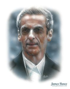 """""""Please, just… just see me."""" (Doctor Who) by James Hance"""