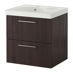 GODMORGON/EDEBOVIKEN Sink cabinet with 2 drawers IKEA 10-year Limited Warranty. Read about the terms in the Limited Warranty brochure.