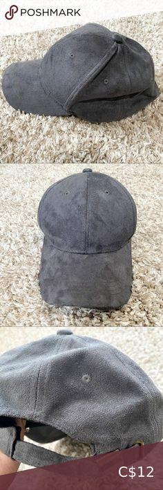 Aldo Gray Suede Hat Gray suede baseball cap Adjustable buckle closure Excellent condition Aldo Accessories Hats Suede Hat, Blue Suede, Air Max 90 Kids, Leopard Ears, Wide-brim Hat, Hats, Gymshark Flex Leggings, Knitted Headband
