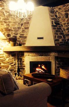 Cuando cae la noche, es un placer disfrutar del fuego. #CaLulon