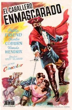 El caballero enmascarado (1951) tt0043638 PP Vintage Movies, Caricature, Beautiful Pictures, Comic Books, Comics, Tv, Anime, Movie Posters, Decor