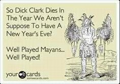 Dick Clark never aged!  He was created to live forever! If, I mean WHEN Dick Clark dies, we ALL die!!!  ;o)