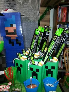 Minecraft Party Favors Pinteres