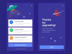 Let's continue with the upgrade page. This is one of the important pages of the app, we want to create interesting thing that people interested to buy.  However, this is just one of the concepts th...