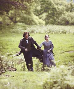 Toby Stephens (Mr. Edward Fairfax Rochester) & Ruth Wilson (Jane Eyre) - Jane Eyre directed by Susanna White (TV Mini-Series, BBC, 2006)