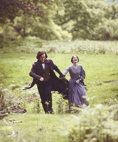 Toby Stephens (Mr. Edward Fairfax Rochester) & Ruth Wilson (Jane Eyre) - Jane Eyre directed by Susanna White (TV Mini-Series, BBC, 2006) #charlottebronte