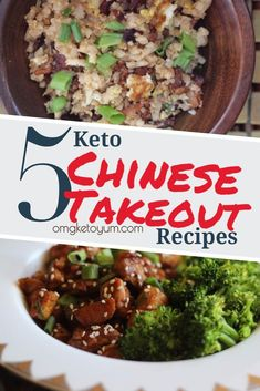 Who does not love Chinese food? I mean the American style Chinese food that is basically a sweet and salty sugar bomb. I do keto to heal my autoimmune (RA) so sugar is a no no unless I want joint pain. These recipes are grain free, sugar free and dairy fr