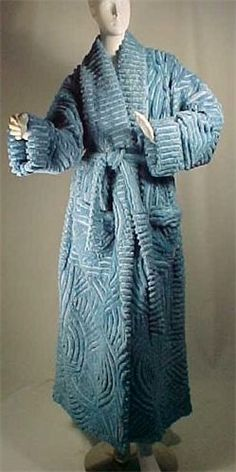 Men's Chenille Robe