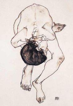 Egon Schiele - by International Visual Art