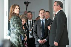 05 APRIL 2014  Crown Princess Mary Crown Princess Mary attended inauguration of the YMCA's Soldiers Home in Høvelte