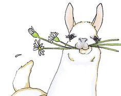 Llama or alpaca Nursery Wall Art an Original Print Ilustration in White o. Quirky Llama or alpaca Nursery Wall Art an Original Print Ilustration in White o. , Quirky Llama or alpaca Nursery Wall Art an Original Print Ilustration in White o. Alpacas, Illustrations, Illustration Art, Alpaca Drawing, Llama Arts, Cute Llama, Llama Llama, Llama Face, Fox Art