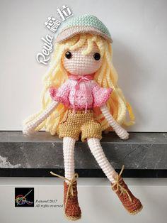Crochet Doll Pattern - Reyla 蕊拉