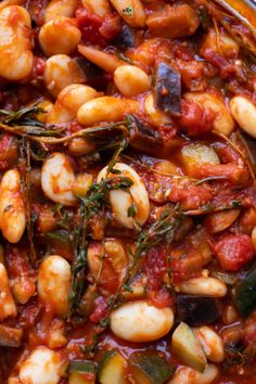 wegański gulasz z fasolą Vegetarian Recipes, Cooking Recipes, Healthy Recipes, Eat Happy, Bean Stew, Healthy Chicken, Food Allergies, Food Inspiration, Food Print
