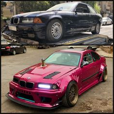 Old BMW 3 Series Gets Amazing Cyberpunk Makeover - autoevolution Custom Bmw, Custom Cars, Volkswagen Golf, E36 Compact, Bmw 3 E46, Mercedes Benz, E36 Coupe, Bmw Girl, Custom Chevy Trucks