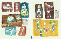 Artbook : Masaaki Yuasa - Sketchbook for Animation Projects Character Concept, Character Art, Concept Art, Character Design, Animation Portfolio, Art Portfolio, Crayon Shin Chan, Moleskine Sketchbook, Chibi