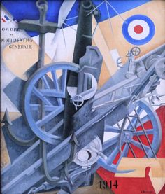 Gino Severini - Plastic Synthesis of the Idea of War [1915]