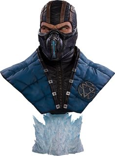Sub-Zero Life-Size Bust  https://www.sideshowtoy.com/collectibles/mortal-kombat-sub-zero-pop-culture-shock-902846/