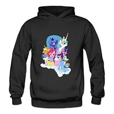 JuDian My Little Pony Friendship Is Magic Hoodies For Womens L @ niftywarehouse.com