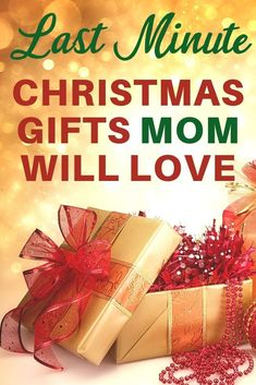 Last Minute Christmas gifts for Mom 2020 - Need an amazing Christmas gift for Mom that can ship quickly? Shop 20+ last minute Christmas gift ideas that she'll love! #giftsformom #FINDinista.com