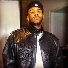 The Game rocking a Pelle Pelle leather by Marc Buchanan