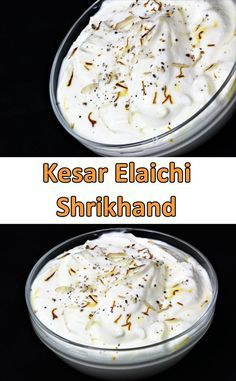 Kesar Elaichi Shrikhand is a well known dessert in India that is simple to make and tastes very nice. Saffron and Cardamom are the best friends of any sweets. Traditionally Shrikhand is made from hung curd. It takes hours to make shrikhand with hung curd. But this time I made Kesar Elaichi Shrikhand with Sour Cream, yes you heard it right with sour cream instead of curd.