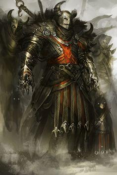 Barbarian Merc by theDURRRRIAN.deviantart.com on @deviantART