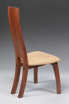 Modern Wood Chair Rocking Covers Hay Sculptured By Philip Koomen Furniture Contemporary Wooden Custom Made To Order Cascade Dining Appalachianjoinery