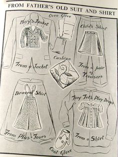 make do and mend, re-making clothes, 1940s rationing, 40s fashion