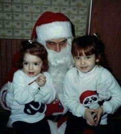 Uhh the devil disguised as Santa? #nope