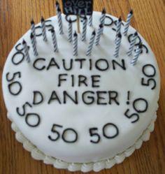 50th Birthday Cakes for Men | 50th Birthday