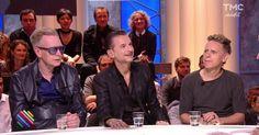 Dave Gahan, Martin Gore et Andy Fletcher… Bienvenue à Depeche Mode sur le plateau de « Quotidien ». Martin et Dave vivent dans l'Amérique de Donald Trump. Andy, dans l'Angleterre du Brexit. Dans leur  dernier album, Ils appellent à un changement.  « Spirit » est disponible partout. En concert le 1er juillet au Stade de France. On les retrouve à 21h15 en live sur le Facebook de Quotidien pour un concert privé exceptionnel