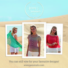 Don't forget to vote!! There's still chance to vote for your favorite for the DROPS Spring & summer collection 2014!   Go to: http://www.garnstudio.com/vote-your-favorites.php?cid=19 and choose your 10 favorites.