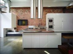 Inspiration Industriele Keuken : Beste afbeeldingen van industriële keukens