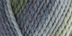 Patons® Shetland Chunky Ombre & Raggs Yarn Country Sky