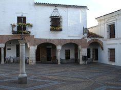 La Plaza Chica de Zafra. Lugar de Comercio medieval.